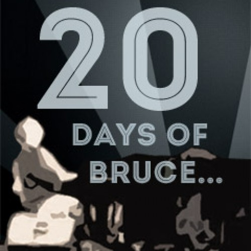 20 Days of Bruce, a Daily Dose Day and a new cover CD… coming June 6-25!