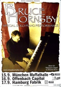 Bruce Hornsby Hacyon Days 2004 concert poster