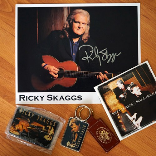 Win a signed Ricky Skaggs package!