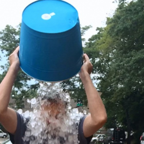 The Bruuuce.com ice bucket challenge