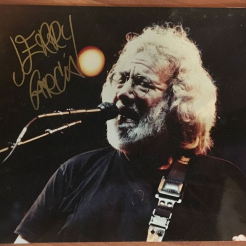 Podcast #30 – win a signed Jerry Garcia photo!