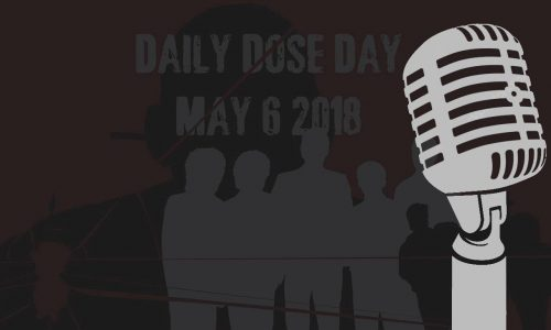 May 6's Daily Dose Day will be…