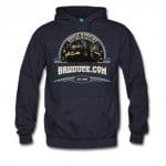 Bruuuce.com hoodie