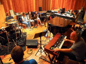 Bruce Hornsby home studio