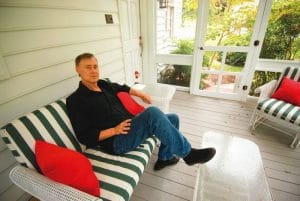 Bruce Hornsby at home